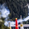 Hall gets first Red Bull Air Race win