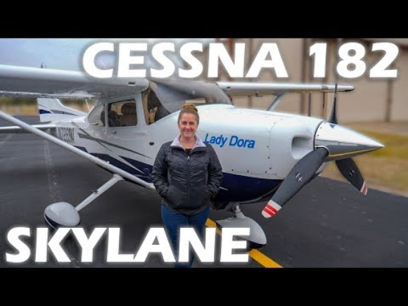 Cessna 182 Skylane - Flight & Pilot Interview