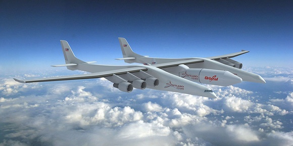 World's largest airplane, Stratolaunch, in production