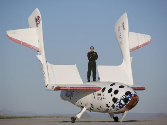Making History with SpaceShipOne: Pilot Brian Binnie Recalls Historic Flight