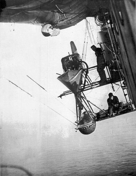 British patrol airship North Sea class