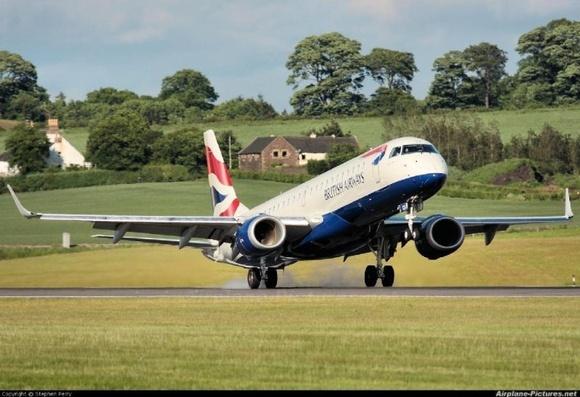 Countryside landing...