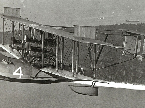 NC-4 flying boat, first aircraft to fly across the Atlantic Ocean