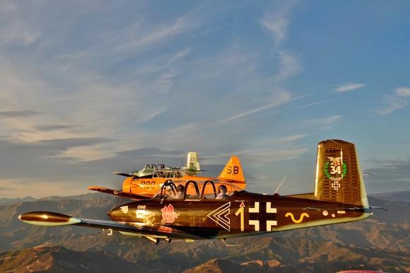 Formation flight honors veterans