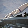 Preflight checks inside an F-35A Lightning II