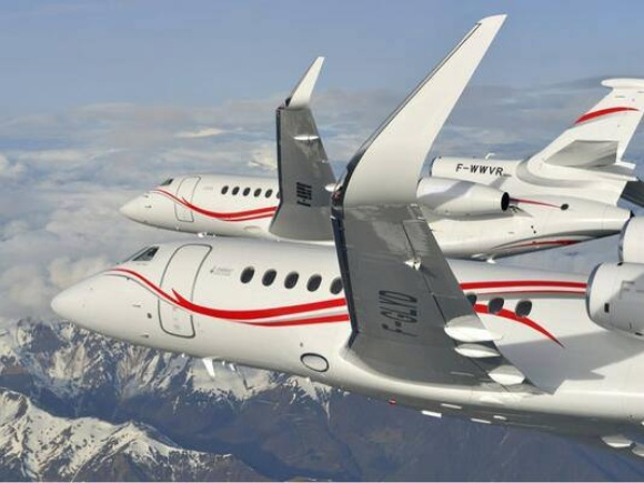 Dassault Falcon 7X Aerobatic Team