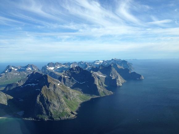 Lofoten in northern Norway