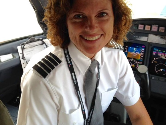 Captain Tracy Toth, living the dream!