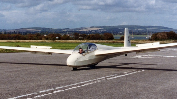 Glider Pilot Programme at RMAS - 1992