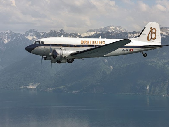 Breitling DC-3 world tour planned