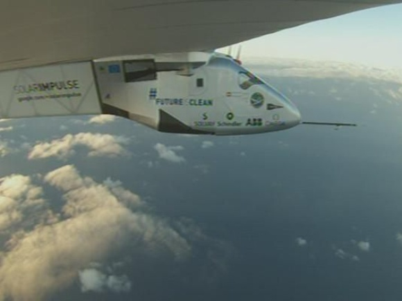 Solar Impulse~ What An Achievement! Since 4 Days/Nights Flying! Wow! Keep The Sunny Side Up, André!