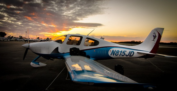 Cirrus at sunset