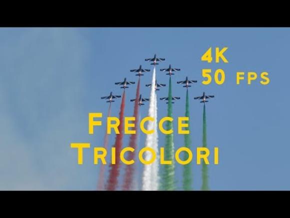 Frecce Tricolori 4K 50 fps at Jesolo Air Show