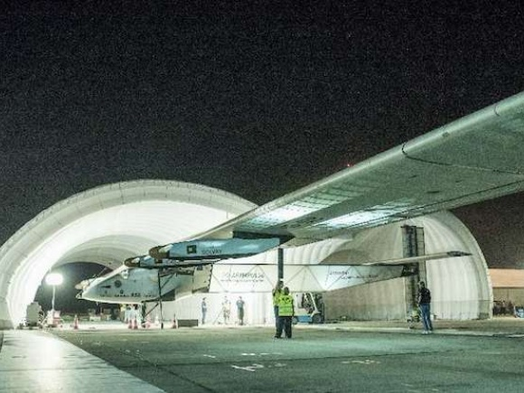 Solar plane set to make epic flight across Pacific