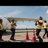 Cebu Pacific Running Man Challenge Compilation