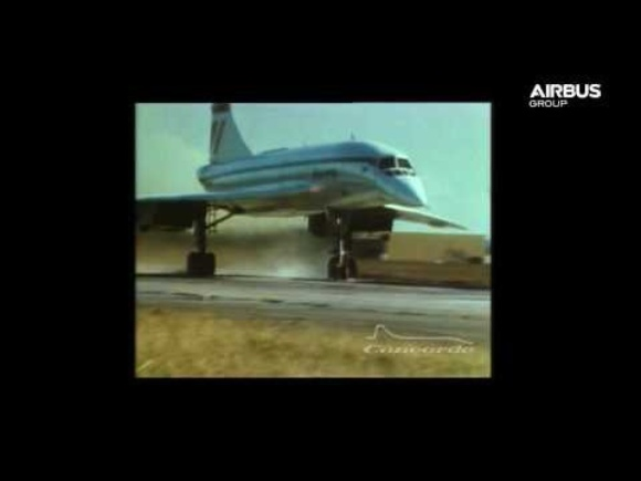 Vintage Collection of Concorde Footage