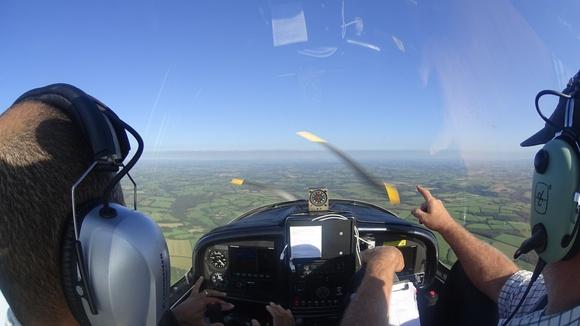Flying in Devon UK