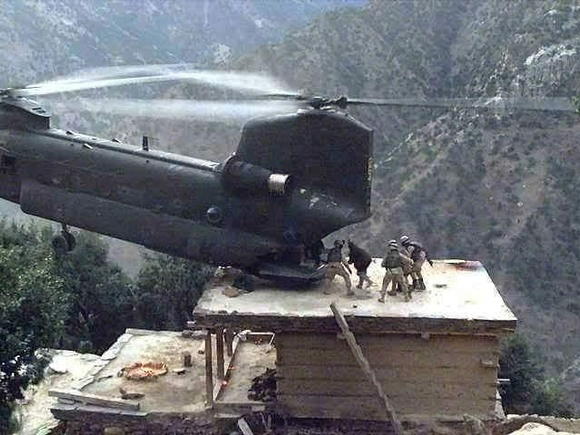 Rescue mission in Afghanistan