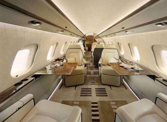 Photo Interior Design Private Jet Bombardier Xrs Aviationclub