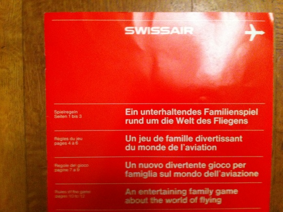 Swissair Game