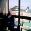 Myself at Monaco heliport
