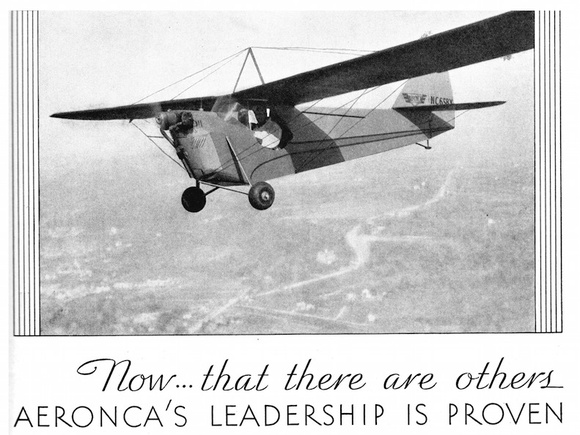 Aeronca C-2: Small plane, big records
