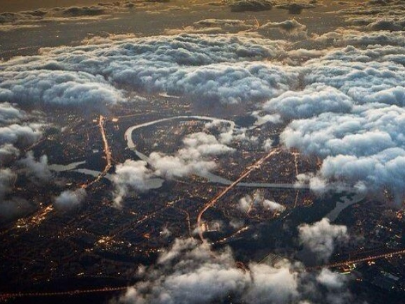 Moscow from above