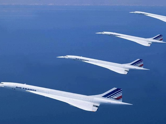 Concorde  in the Blue