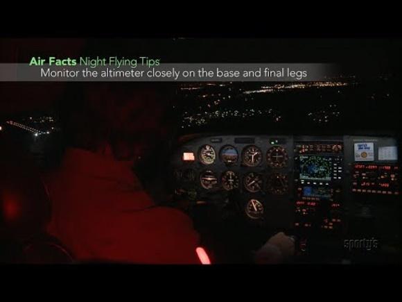 Sporty's Aviation Tips: Night Flying