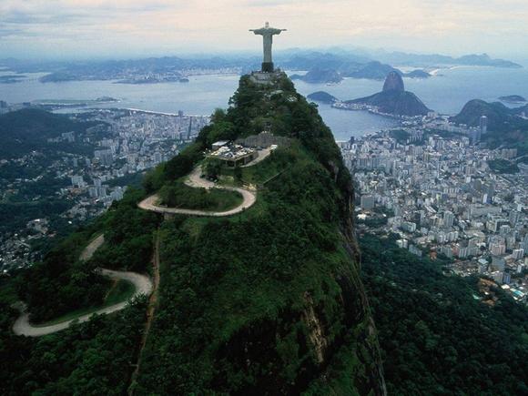 Above Rio de Janeiro