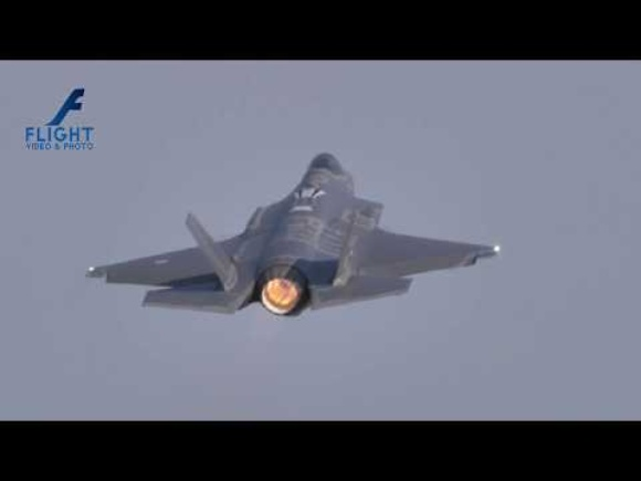 Lockheed Martin F-35 Lightning II of Italian Air Force at Iniohos 2019