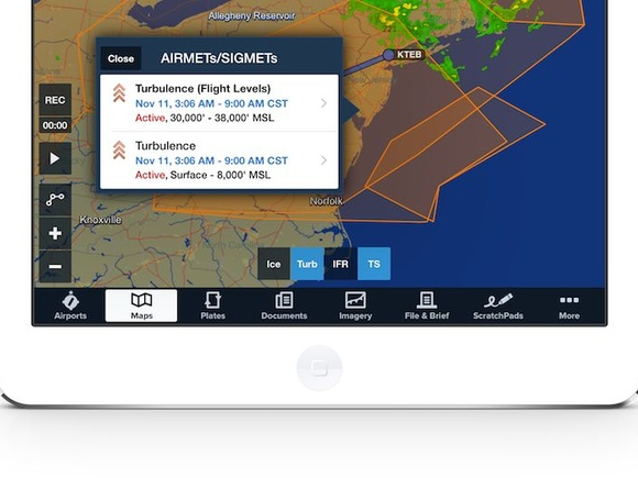 ForeFlight Briefing added to namesake app