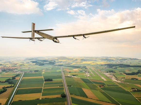 Solar powered aircraft