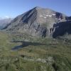 Lac Fourchu - piste à G bout du lac