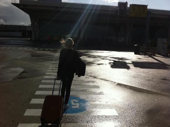 Arrival Porto