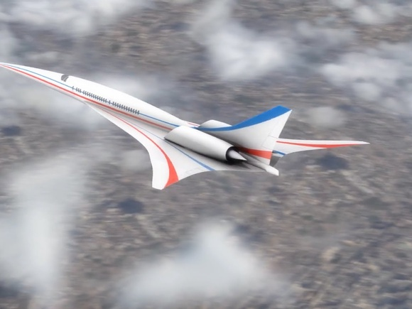 New NASA X-plane Will Be a Quieter Supersonic Jet