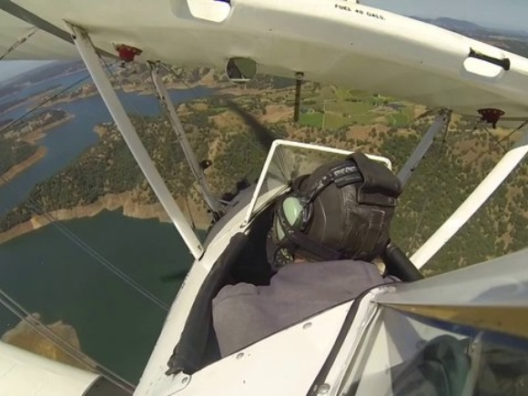 Chris' Stearman New Melones Lake