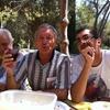 Les 3 larrons au Mont-Boron! Suis au milieu! Am in the middle