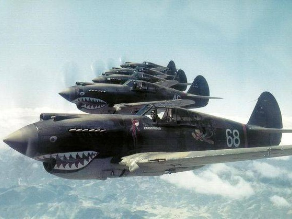 Flying Tigers Squadron in China