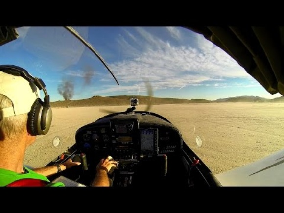 Two Airplanes Colliding Over Nevada Desert in 2014