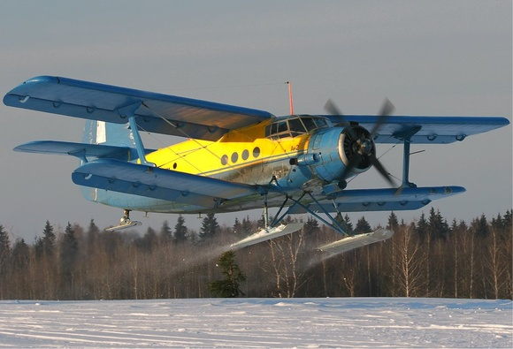 Antonov An-2R, the plane that can fly backwards...