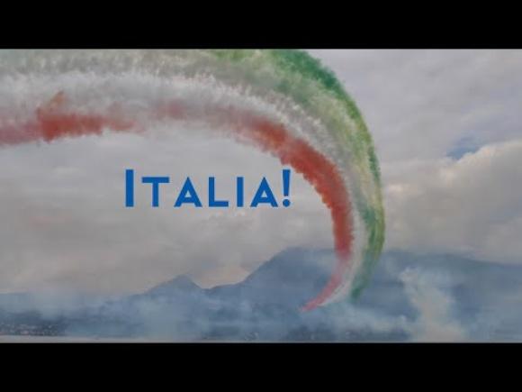 Frecce Tricolori the Italian Aerobatic Team in 4K UHD at 50fps