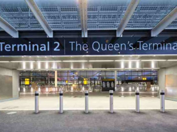 Heathrow Airport's new Terminal 2 officially opened by Her Majesty