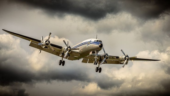 Beautiful 'Connie' on approach