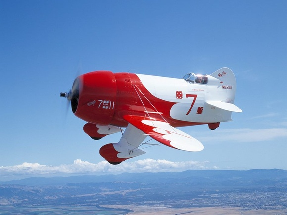 Gee Bee R2 - photo courtesy of Sherri Straker