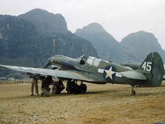 Curtiss P-40 in China