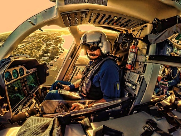Cockpit of Aeromed 2 in Sebring, by Jens Jehnes