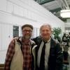 Mon pote Jean-Marie et moi-même au terminal 1 de Nice