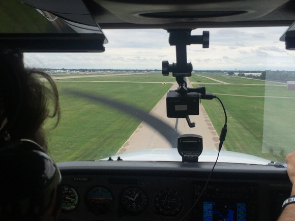 Landing at Oshkosh