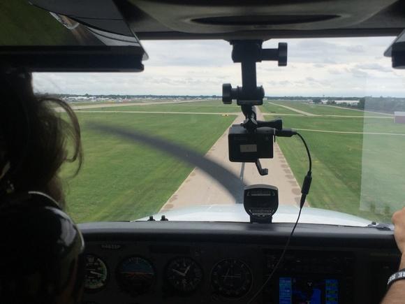 Landing at Oshkosh